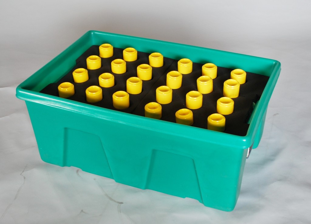 Polyurethane Foam Containers : Myton plastic container dividers and inserts