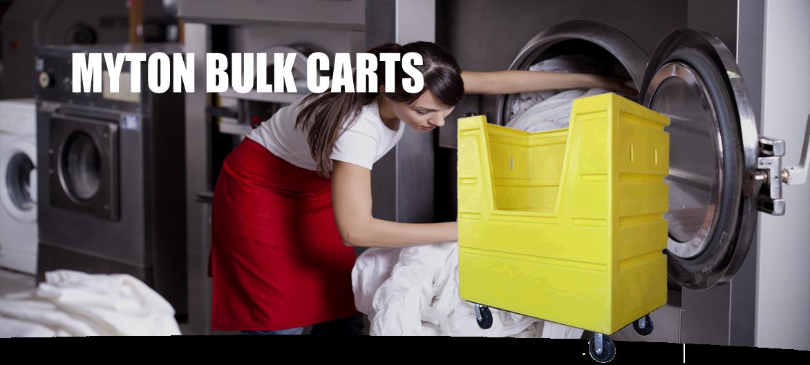 bulk carts and utility trucks