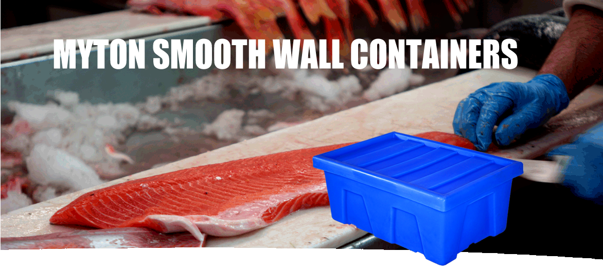 smooth wall container