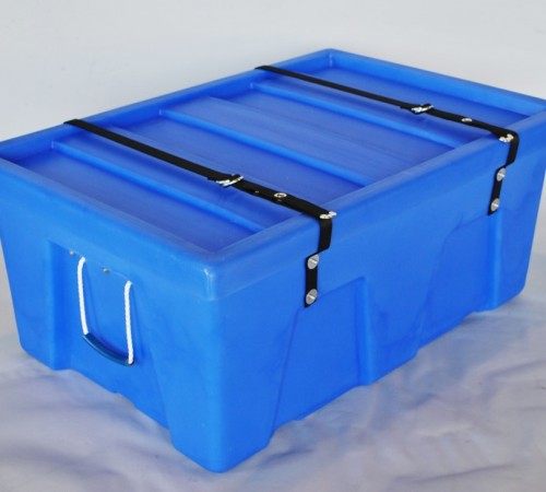 MTA-SERIES SMOOTH WALL PLASTIC CONTAINER WITH SECURITY STRAP