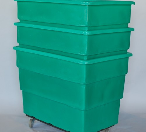 MTC - H SERIES BUSHEL TRUCK WITH CASTERS NESTED