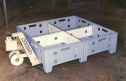 """STACK ONLY CONTAINER Removable ¼"""" HDPE"""