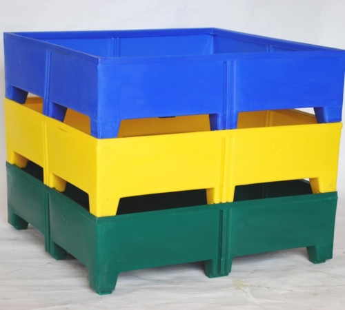 MTU-SERIES STACK ONLY CUSTOMIZABLE PLASTIC CONTAINER
