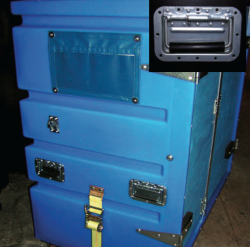 RECESS CHEST handles can be used on any Smooth Wall Containers, Carts or Bushel Trucks.