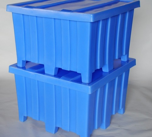 MTD-SERIES RIBBED WALL PLASTIC CONTAINER