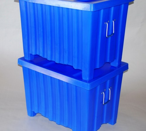 MTE-L SERIES RIBBED WALL PLASTIC CONTAINERS