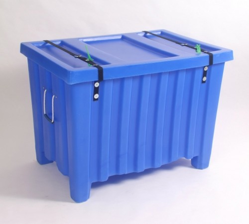 MTE-L SERIES RIBBED WALL PLASTIC CONTAINER