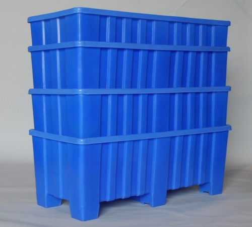 MTO-SERIES RIBBED WALL PLASTIC CONTAINER