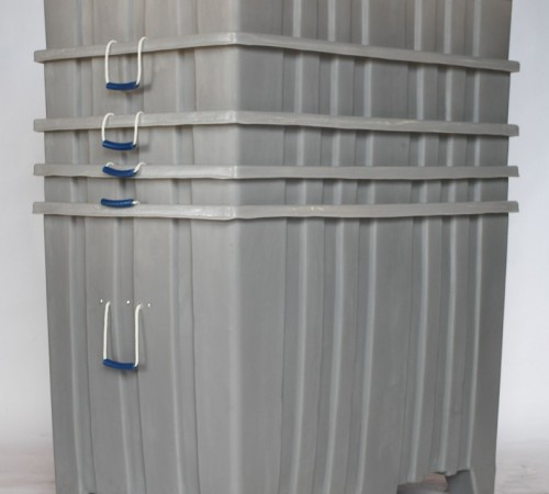 MTR-SERIES RIBBED WALL PLASTIC CONTAINERS