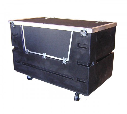 COF-3433H5 BULK CART WITH CASTERS, LID AND DOOR