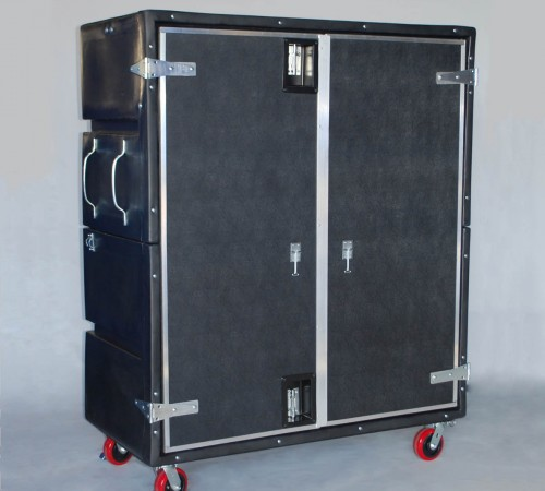 RTC-6829H6 BULK CART ON CASTERS WITH PULL HANDLES