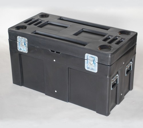 SC-4524-1 ROAD CASE WITH INTERNAL STEEL FRAME