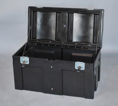 OPEN SC-4524-1 ROAD CASE WITH INTERNAL STEEL FRAME