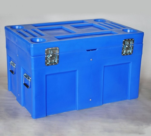 SC-4534-1 ROAD CASE WITH INTERNAL STEEL FRAME