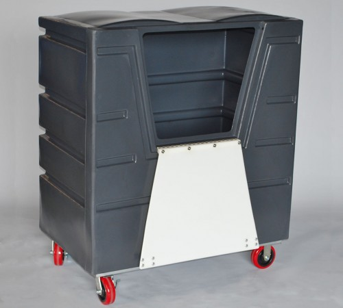 VFC-4829H6  BULK CART ON CASTERS  WITH LID AND ACCESS DOOR