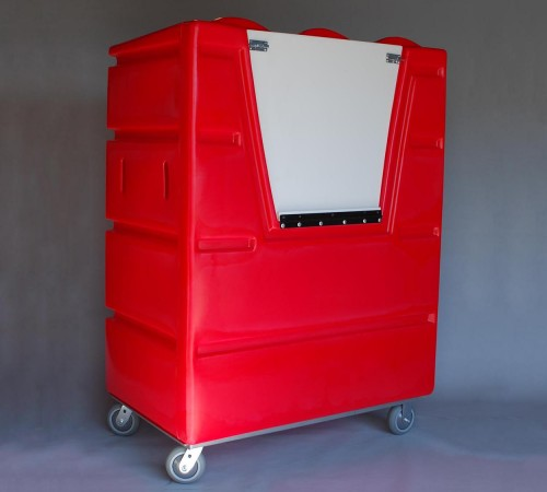 VFC-5829H6  BULK CART ON CASTERS WITH ACCESS DOOR AND TOP