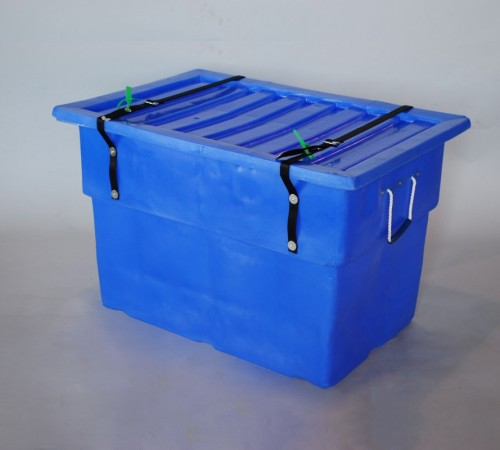 MTF-SERIES SMOOTH WALL PLASTIC CONTAINER WITH SECURITY STRAP