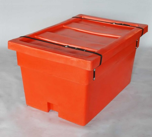 MTX-SERIES SMOOTH WALL CONTAINER WITH LID AND SECURITY STRAP