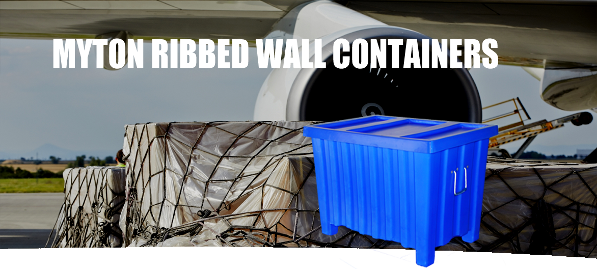 ribbed wall container