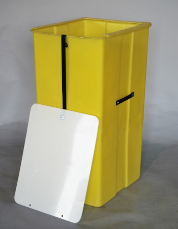 MTJ-SERIES SMOOTH WALL CONTAINER WITH ATTACHED LID